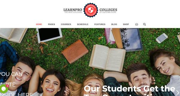 learnpro seo optimized wordpress theme