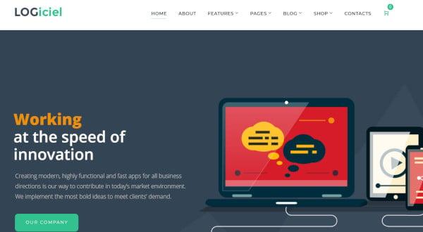 logiciel-dedicated-page-builder-wordpress-theme