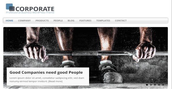 mh corporate – html5 css3 and php code inlcudedwordpress theme