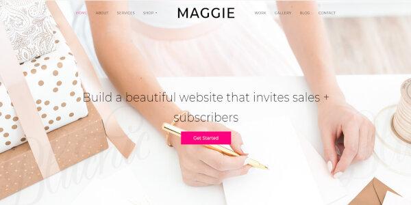 Maggie – Fully Customizable WordPress Theme