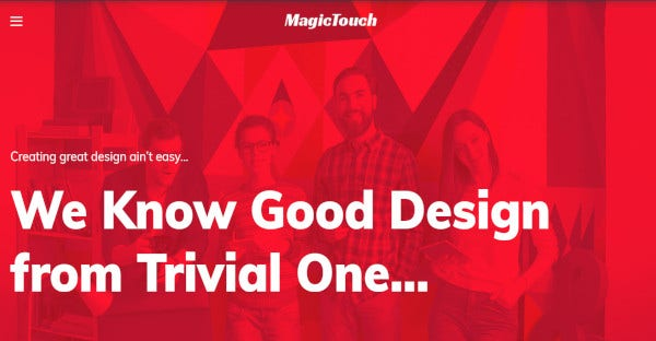 Magic touch – Retina Ready WordPress Theme