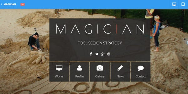 magician-drag-and-drop-page-builder-wordpress-theme