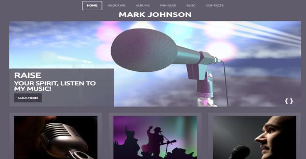 Mark Johnson - Multilingual WordPress Theme