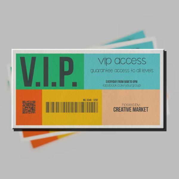 metro style vip ticket example