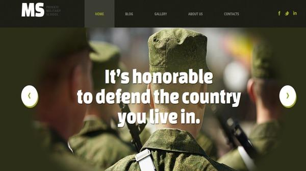 Military – SEO Ready WordPress Theme