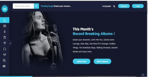 miraculous online music store wordpress theme