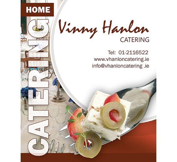 modern catering bussiness flyer