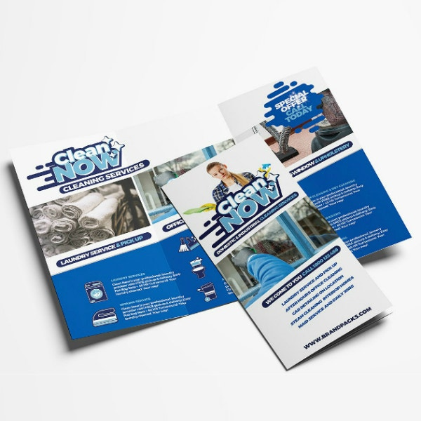 Modern Cleaning Services Brochure Sample
