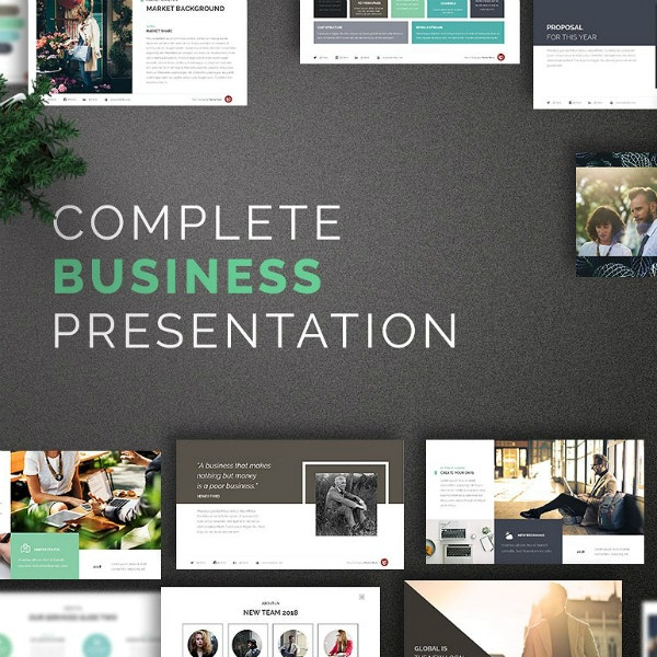 Modern Complete Business PowerPoint Format