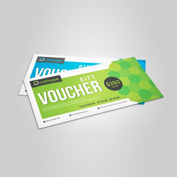 modern editable gift voucher sample