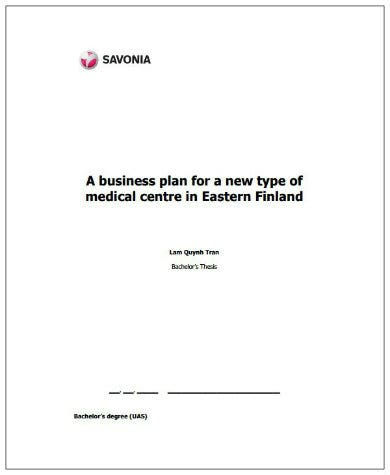 modern healthcare marketing plan template1