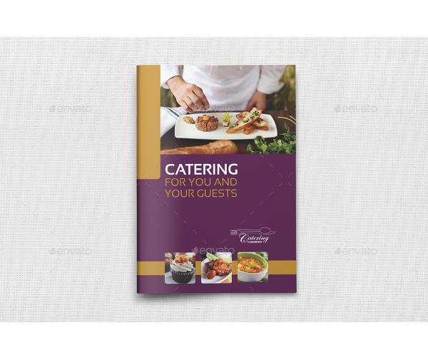 modern restaurant catering brochures