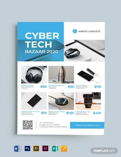 multipurpose sales flyer template