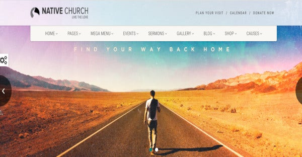 native church – user friendly wordpress theme
