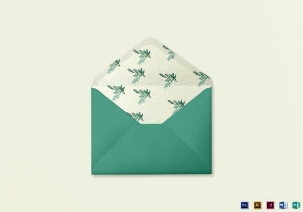 nautical wedding envelope template in word