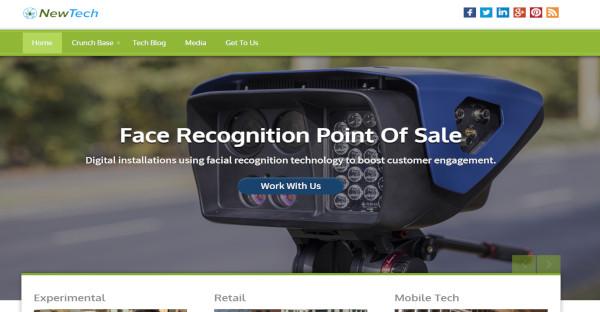 Newtech - Responsive WordPress Theme