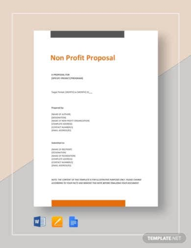 non-profit-proposal-template