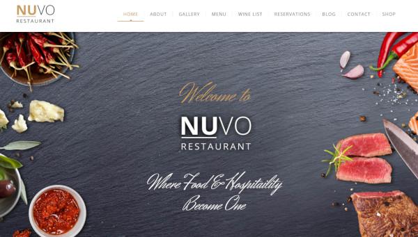 nuvo – html compatible wordpress theme