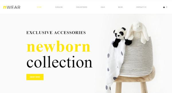 nwear-page-builder-wordpress-theme