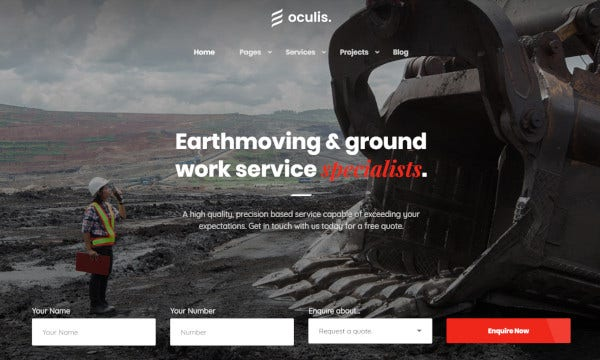 oculis wpml ready wordpress theme