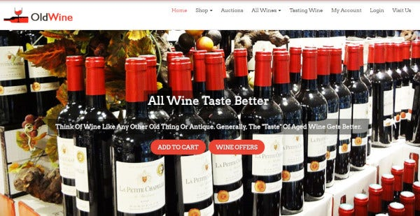 oldwine seo ready wordpress theme