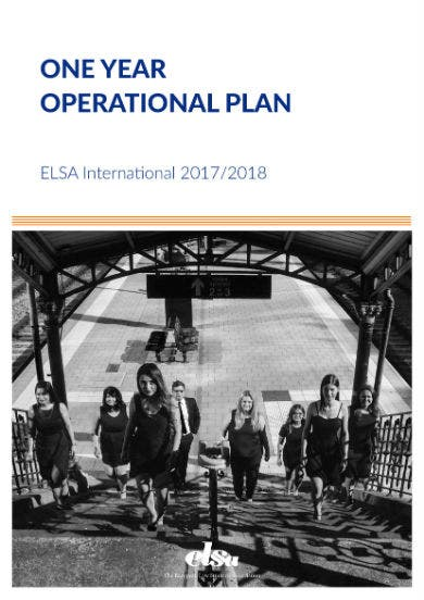 one year operational plan 01
