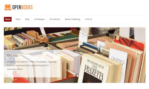 open books woocommerce wordpress theme