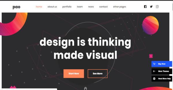 pao 6 demo layouts wordpress theme