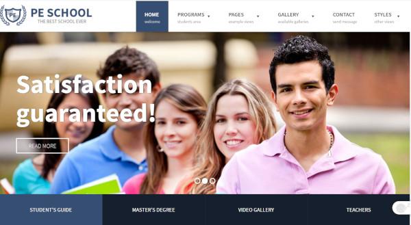 pe-school-wcag-recommendation-wordpress-theme