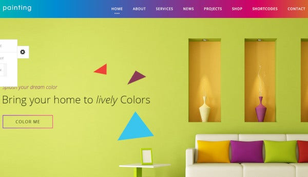 paint-megamenu-widgets-wordpress-theme