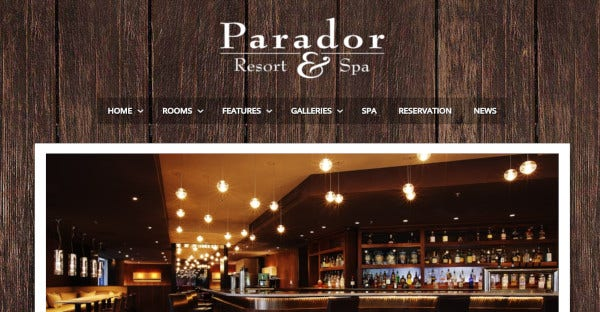 Parador - User Friendly WordPress theme