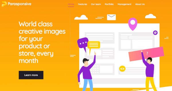 parasponsive-custom-wordpress-theme