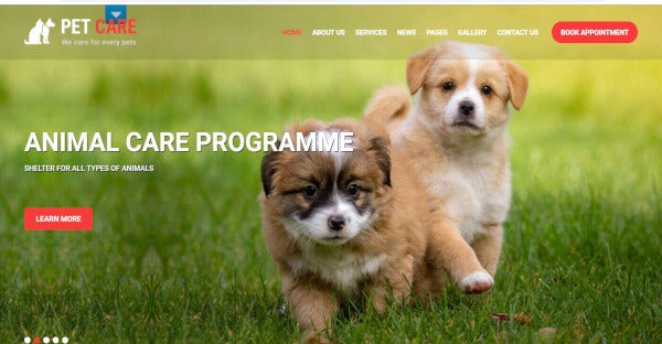 Pet Care - Multipurpose WordPress Theme