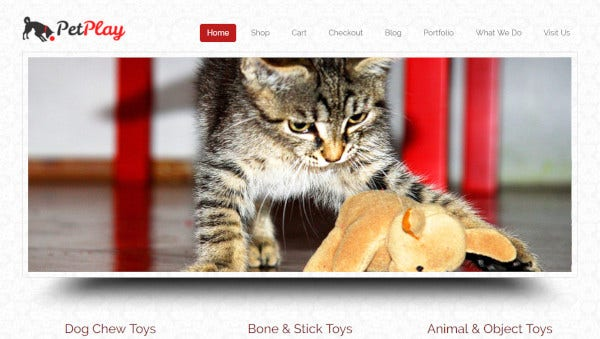 petplay – user friendly wordpress theme