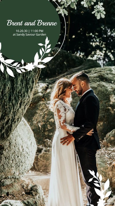 photo wedding snapchat geofilter example