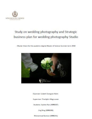 photography businessplan