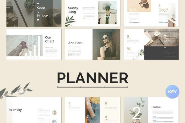 Photography Keynote Schedule Planner