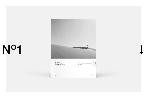 photography portfolio template sample