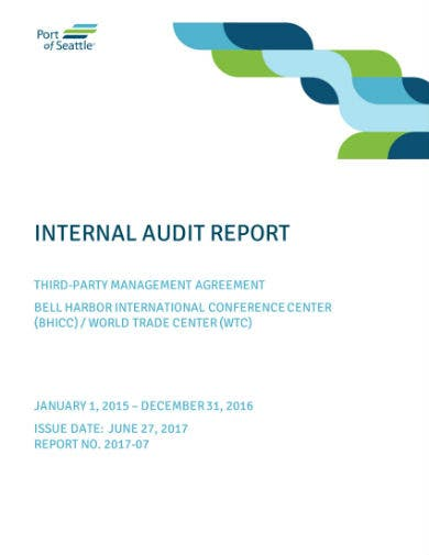 port internal audit report 01
