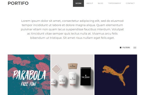 portifo-slide-and-fade-effect-wordpress-theme