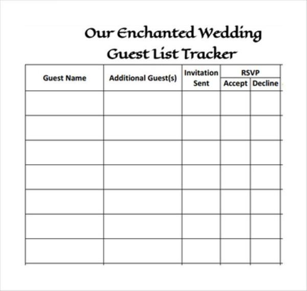 print wedding guest list template1