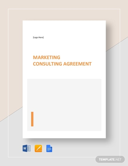 printable marketing consulting agreement template