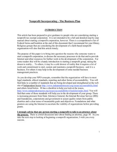 printable-nonprofit-business-plan