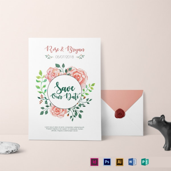 private personalized wedding invitation template