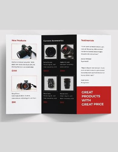 product sale brochure template