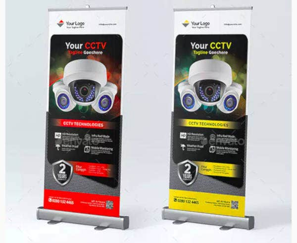 product sale roll up banner design