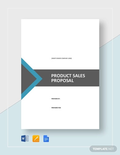 product sales proposal template