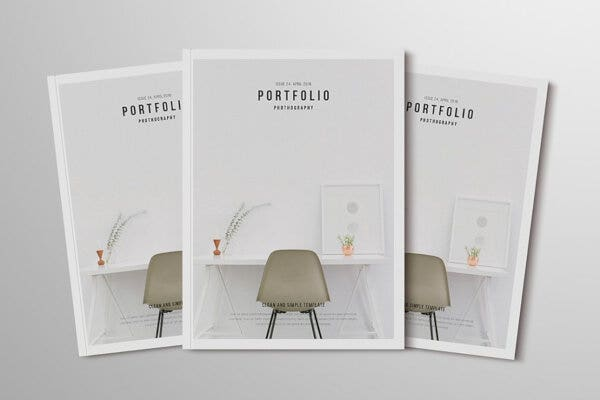 professional indesign photography portfolio