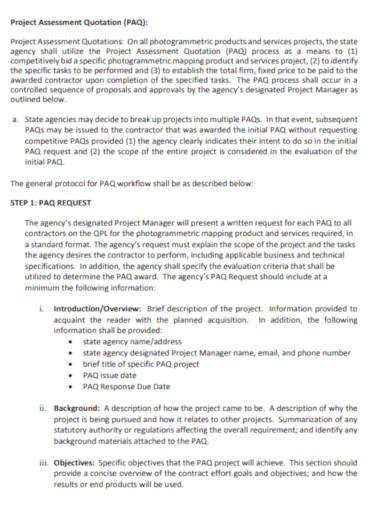 project-assessment-quotation