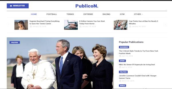 publicon responsive wordpress theme